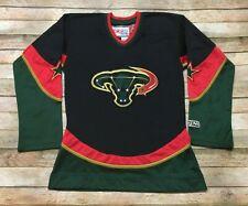 DALLAS STARS CCM Womens Jersey Sewn RARE 2003-2006 3rd NHL Hockey Black Size XS