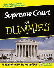 NEW Supreme Court For Dummies by Lisa Paddock