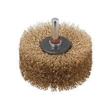 Wolfcraft 2265000 - Spazzola per ravvivare il legno, codolo ø 8 mm, 80 x 35 mm