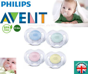 Philips Avent Orthodontic Baby Dummy Translucent Silicone Soother-SCF170/18