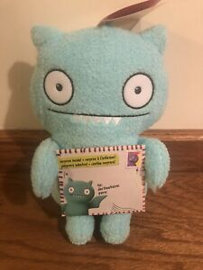 """Ugly Dolls Yours Truly, Ice Bat 9"""" Plush Blue Uglydoll New With Tags Hasbro"""