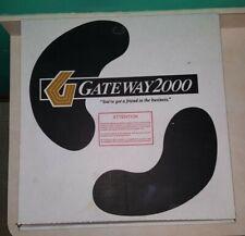 Vintage Gateway 2000 Cow Print Computer Accessories Box Retro Pc