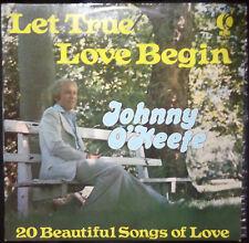 JOHNNY O'KEEFE - LET TRUE LOVE BEGIN VINYL LP AUSTRALIA