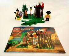 LEGO Set 6246 Crocodile Cage (Vintage Pirates, 1994, 100% Complete W/ Manual)