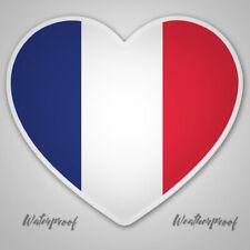 France,Flag,Sticker,Decal,Heart,Car,Ipad,Laptop,Van,Bumper