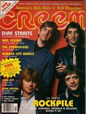 Creem Magazine February 1981 Rockpile Cheap Trick Kiss Joe Jackson Jim Carol