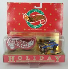 HOLIDAY HOT WHEELS 1996 Collection Edition Gold Chevy Nomad with Case