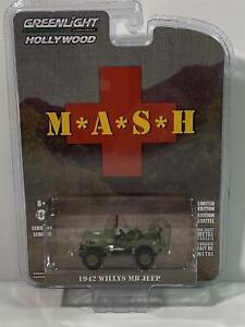 M*A*S*H 4077th 1942 Willys MB Jeep 1:64 Greenlight 44900A
