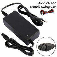 42V 2A Chargeur Pr Auto-équilibrant 2 Roue Scooter Hoverboard Énergie Adaptateur