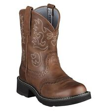 Ariat Fatbaby BOOTS Womens Western Saddle 10 B Russet Rebel 10000860