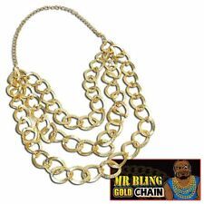 color oro MR Bling CATENA BA# Baracus Costume MEZZANO accessorio