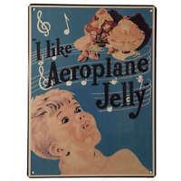 Aeroplane Jelly Tin Sign Metal Australian Kitchen Pantry Advertising 35cm x 26cm