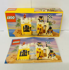 Lego 6259 Vintage Pirates Broadside Brig, with instructions and box Mint