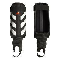 adidas Evertomic Football Soccer Shinguard Shin Pad Guard Black/White