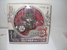 Kaiyodo Takeya Revoltech Action Figure: #004 Zochouten wood color version MIB