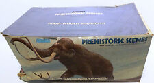 ANIMALS : GIANT WOOLT MAMMOTH MODEL KIT MADE BY AURORA IN 1972 (MLFP)