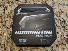Corsair Dominator Platinum 16GB (2 x 8GB) DDR3 DRAM Memory (CMD16GX3M2A1600C7)