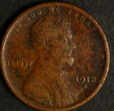 1912 S Lincoln Wheat One Cent 1C Coin - BETTER DATE