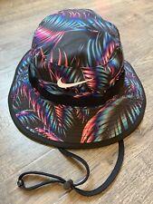 Nike Sportswear NSW Unisex Mesh Cap Bucket Packable Hat L/XL Floral CK1392-010