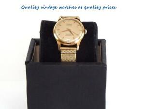 Vintage 60's Colant 17 jewels gold plated windup men wristwatch-Swiss made