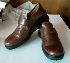Excellent Used Condition Women's Leather Wolky Slip On Shoes Sz 8