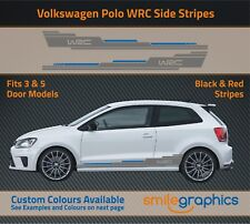 VW Polo WRC Stripe Kit Stickers decals - Other colours available