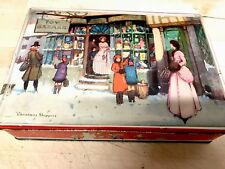 Vintage Christmas Biscuit Tin McVitie & Price Ltd Edinburgh