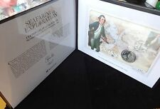 2009 SILVER PROOF JERSEY £5 COIN PNC + COA CAPTAIN JAMES COOK SEAFARING 1/950