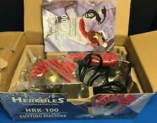 Hercules Hrk-100 3-Speed Octagonal Rotary Cutter w/ 4-inch Blade and Built-in