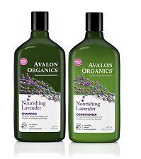 Avalon Organics Nourishing Lavender Shampoo & Conditioner - 325ml