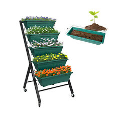 Garden Elevated Raised Bed Patio Vertical Herb Planter Vegetable Boxes