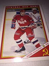 1990-91 O-Pee-Chee Red Army #18R Andrei Kovalenko