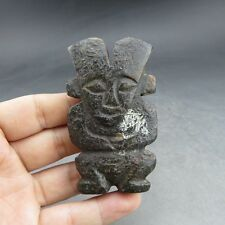 Chinese , jade,manual sculpture, natural jade, sun god, pendant Q075=