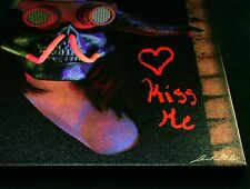 Kiss Me ~ Fantasy Apocalypse Art Graffiti ~ Limited Edition Print 16 x 20 Canvas