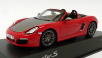 Minichamps 1/43 Scale WAX 201 201 18 - Porsche Boxter S - Red/Black