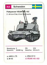 Panzer Quartett 7b ///  Mittlerer  Kampfpanzer T-62 Spiele Einzelkarte