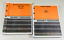 MASSEY FERGUSON 135 TRACTOR FACTORY SERVICE MANUAL PARTS CATALOG REPAIR SHOP SET