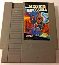 Nintendo NES Mission Impossible Video Game