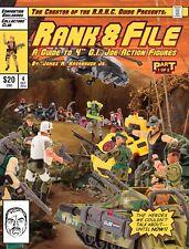 Rank & File Guide vol 4 G.I. Joe Reference book Sdcc Gijcc club