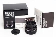 Voigtländer Color-Skopar 4/21mm P-Type VM f. Leitz / Leica M