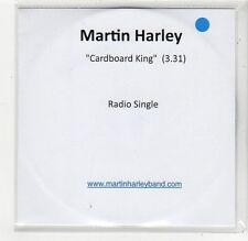 (FC751) Martin Harley, Cardboard King - 2013 DJ CD