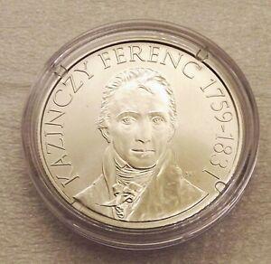 Hungary 2009 3000 Forint Ferenc Kazinczy Silver BU UNC C|5883
