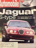 Automobile Magazine Jaguar S-Type Honda Roadster December 1998 011019nonrh