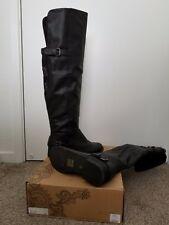 [EXCELLENT CONDITION] Ecote Women's Long Boots Black Size 8M