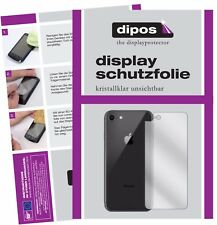 2x Apple iPhone 8 Back Screen Protector Protection Crystal Clear dipos
