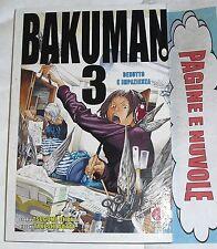 ohba / obata - BAKUMAN n.3 - 1° edizione!!! - NUOVO!!!! - planet manga