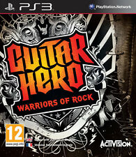 Guitar Hero Warriors of Rock PS3 Jeu * en excellent état *
