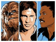 Joshua Budich Star Wars Scoundrels Signed A/P Artist Proof Mondo 18x24