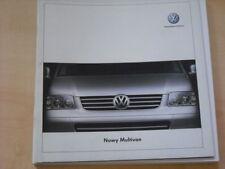 26681) VW Bus T5 Multivan Polen Prospekt 2003