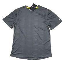 NEW ASICS Men's Active Tee Short Sleeve Performance Shirt Gray, Size XL